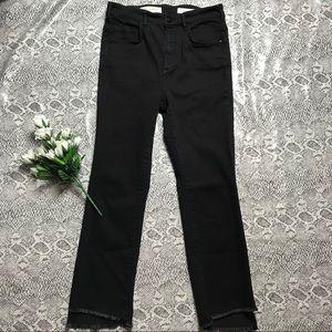 Pilcro and the Letterpress Black Superscript Jeans